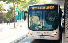 Transmetro define este lunes operación especial por partido Junior vs Nacional