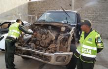 Aparece camión 'pimpinero' que chocó con bus de Brasilia en La Guajira