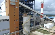Planta de generación térmica Gecelca 3 ubicada en Puerto Bolívar en La Guajira.
