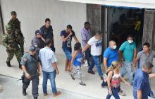 Juez envía a prisión a cinco presuntos integrantes de la Oficina Caribe