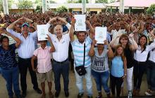 717 familias de Montería son ya dueñas legítimas de sus tierras