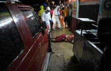 Ataque a bala en lavadero de Soledad deja una persona muerta