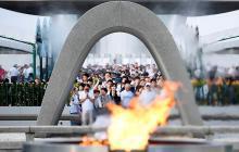 Diversas ceremonias se cumplen en Hiroshima
