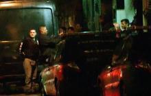 Leopoldo López cuando regresaba a su residencia este sábado.
