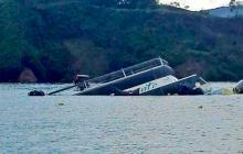 Imagen de archivo de 'El Almirante' , la embarcación que se hundió el 25 de junio pasado en Guatapé.
