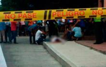 Matan a hombre de cuatro impactos de bala en Carlos Meisel
