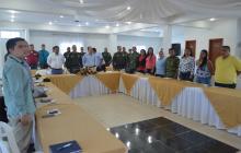 Imagen del Consejo de Seguridad que se celebró en la mañana de este martes en Malambo.