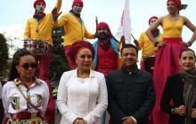 Piedad Córdoba, con un insospechado apoyo vallenato para llegar a la Presidencia