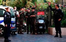 Detenido un hombre por el atropello de militares cerca de París