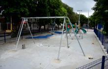 Vecinos de La Victoria piden acelerar obras en parque y canchas