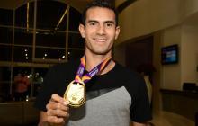Éider Arévalo, campeón mundial en marcha, está de visita en Barranquilla