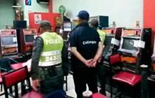 Quitan 102 máquinas de juegos de azar ilegales