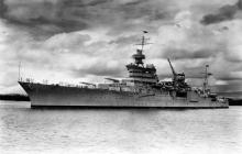 72 años después de naufragar, es hallado barco de la II Guerra Mundial