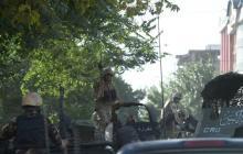 Cohete sacude zona diplomática en Kabul