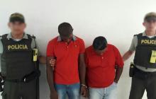 Policía frustra robo en vivienda en Villa Santos