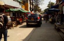 Distrito recupera calle que venía siendo ocupada por vendedores estacionarios