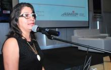 Rosmery Quintero, presidenta ejecutiva de la Asociación Colombiana de Medianas y Pequeñas Industrias.