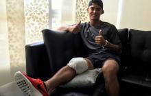 """""""Salí muy bien de la operación, gracias por el apoyo"""": Jefferson Gómez"""