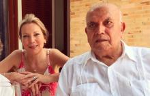 Fallece el padre de María Clemencia Rodríguez de Santos