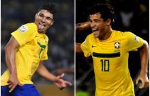 Casemiro y Coutinho jugaron los tres partidos de Brasil en Barranquilla en el Mundial Sub-20. El volante ofensivo anotó tres goles en el estadio Metropolitano.