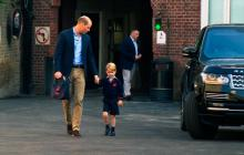 Primer día de escuela del príncipe Jorge de Inglaterra
