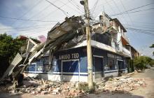 Al menos 61 muertos en el peor terremoto en México en 100 años