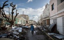 Luego del paso de Irma, colombianos buscan a sus familiares residentes en isla San Martin