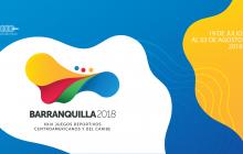 Logo de los Juegos Centroamericanos y del Caribe.
