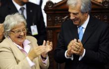 Lucía Topolansky, esposa de Mujica, asume la Vicepresidencia de Uruguay