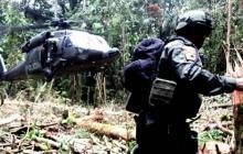 Imagen de referencia de una operación de lucha antidrogas en Colombia.
