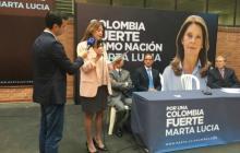Marta Lucía Ramírez inscribió su comité de firmas