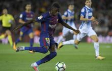 Golpe bajo para 'Barca': grave lesión mantendrá fuera de las canchas a Dembelé