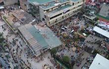 El colegio Rébsamen, símbolo  de la tragedia de México