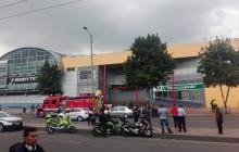 Policía controló situación por artefacto explosivo en centro comercial