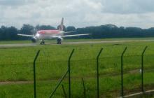 Avión que salió a las 9:50 de hoy desde Montería hacia Bogotá.