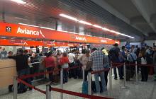 Por paro de pilotos, seis vuelos han sido cancelados en el Ernesto Cortissoz