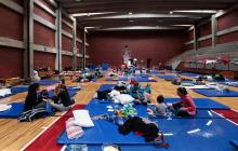 Tras terremoto, mexicanos refugiados en albergues esperan ayudas