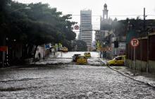 Sábado de lluvia con tormenta eléctrica en Barranquilla