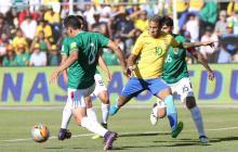 La 'altura' del golero Lampe le niega a Brasil una victoria en La Paz