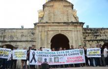 Trece líderes comunales han sido asesinados desde 2007 en Cartagena