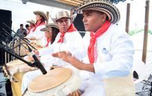 El retumbar de los tambores sigue marcando tradición en Palenque