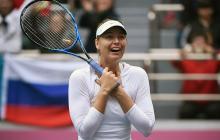 Sharapova gana su primer título en Tianjin, tras 15 meses de suspensión