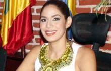 Angélica Hodeg, concejal de Cartagena.