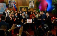 Constituyente juramenta a gobernadores chavistas y convoca a opositores