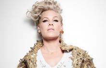 La cantautora estadounidense Pink.