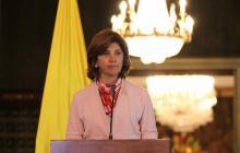 María Ángela Holguín, ministra de Relaciones Exteriores.