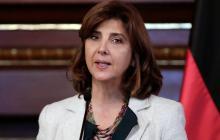 María Ángela Holguín, canciller.