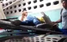 Pensionado cae de sexto piso y se salva al chocar contra techo de un parqueadero