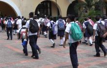 Las autoridades alertaron al sector estudiantil.