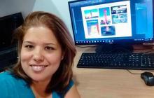 Diana Escorcia, ganadora del concurso de Tecnoglass